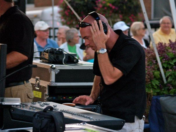 Chad Stewart, XL Live, Front of House, event, production, audio, engineering